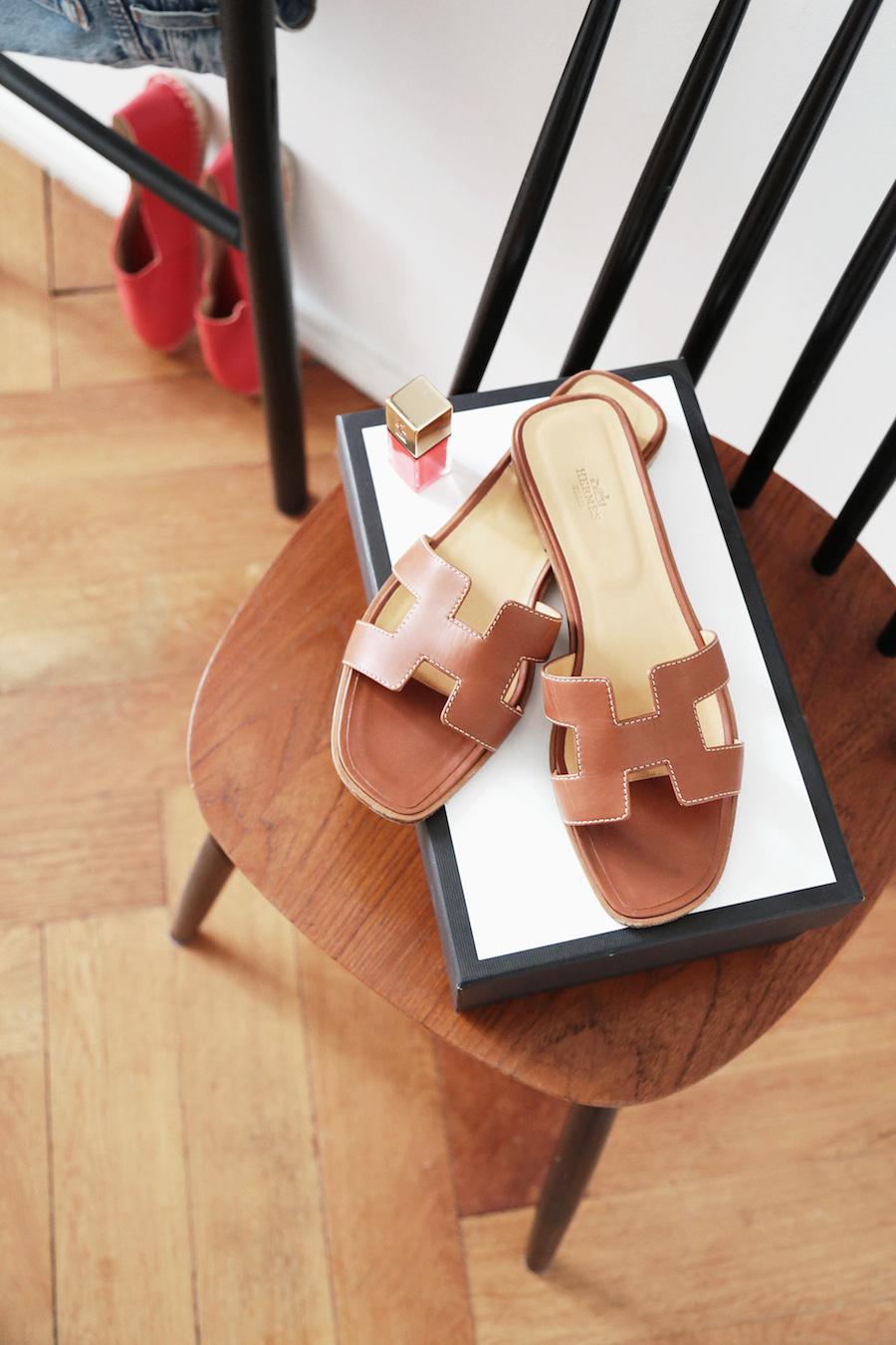 hermes_oran_sandals